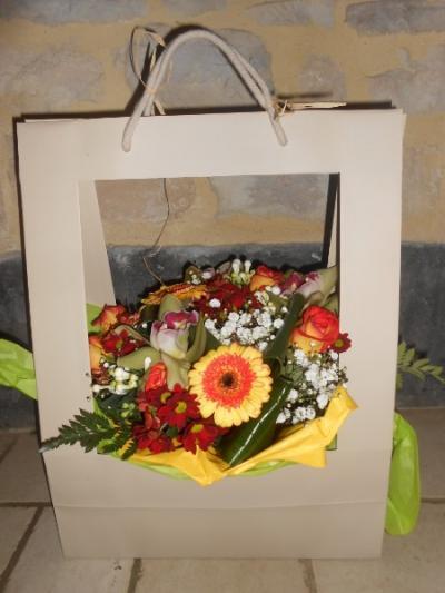 st Valentin le 14 février chez votre fleuriste ERIC GUILLEMET