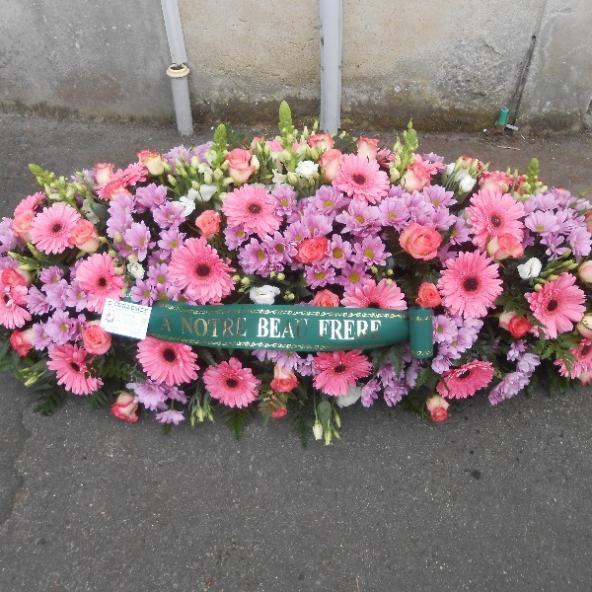 Raquettes pour enterrement Eric Guillemet