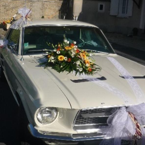 Voitures de mariés